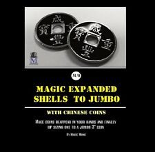 MAGIC CHINESE EXPANDED SHELLS TO JUMBO COIN TRICK
