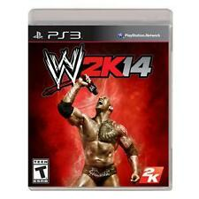 WWE 2K14 Wrestling Rock Hulk Fighting Sony PlayStation 3 PS3 - Free Shipping!