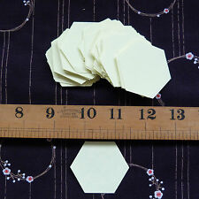 """1"""" Hexagon Templates - English Paper Piecing Quilting / Patchwork   x 100 pieces"""
