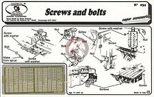 Royal Model 1/35 Screws and Bolts 034