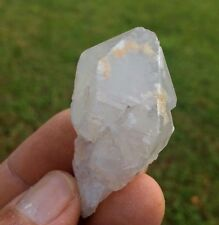 Milky Mud Included Quartz Crystal Point   Diamond Hill  South Carolina