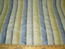 "~10 YDS~FAUX SILK ""INKLING PLAID"" SLATE~ DRAPERY UPHOLSTERY FABRIC FOR LESS~"