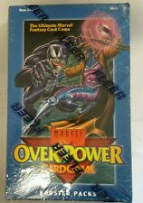 OVERPOWER Marvel Base Set 36 Pack CCG BOOSTER BOX RARE Factory Sealed LOOK
