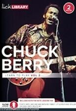 LICK LIBRARY Learn to Play CHUCK BERRY VOL.2 ROUTE 66 Rock Song Guitar Tutor DVD