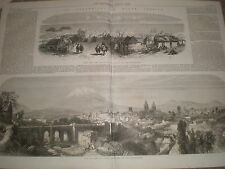 Earthquake in Peru Islay and Arequipa 1868 old prints and article  Ref W1