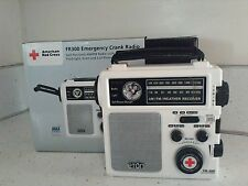 American Red Cross FR300 Emergency Crank Radio/Flashlight, Siren and charger