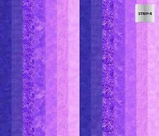 1 Half Metre Ambience Stripe Print Fabric - 100% cotton - 20707-83 Purple