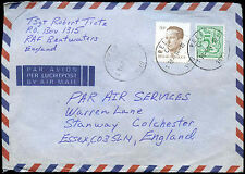 Belgium 1984 Commercial Air Mail Cover To UK #C31505