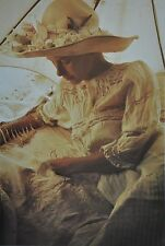 David Hamilton Limited Edition Photo 29x40cm Young Girl in Bed Closed Eyes Bett