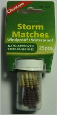 Coghlan's 1170 Storm Matches Windproof / Water Proof (25 matches)
