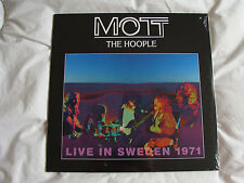 Vinyl Album: Mott The Hoople : Live In Sweden 1971 : Sealed