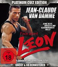 Jean Claude van Damme LEON - LIMITED PLATINUM CULT EDITION Uncut BLU-RAY DVD Box