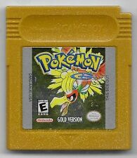 Pokemon Gold Version * New Save Battery * (Nintendo Game Boy Color) AUTHENTIC