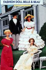 Crochet Fashion Doll Belle & Beau  Patterns  Vintage Annie's Attic