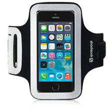 For iPhone 5/5S/SE Black Shocksock Reflective Sports Jogging Gym Armband Case