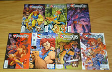 Thundercats #0 & 1-5 VF/NM complete series + sourcebook - ed mcguinness art