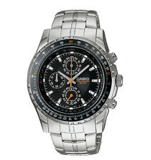 Casio MTP4500D-1AV, Stainless Steel  Watch, Chronograph, 50 Meter WR, Slide Rule