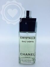 CHANEL CRISTALLE EAU VERTE EAU DE TOILETTE CONCENTREE 100ML 90% capacity/ full