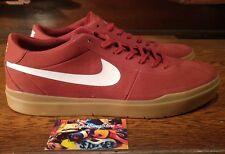 Mens Nike SB Bruin Hyperfeel Dark Cayenne White Gum Light Brown 831756-601 Sz 12
