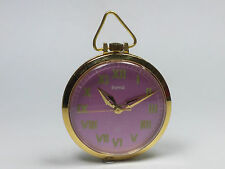 VINTAGE HMT 17 JEWELS HAND-WINDING MOVEMENT ANALOG DIAL POCKET WATCH AC2
