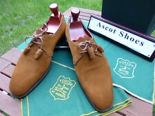 VT076 - Foster and Son by Edward Green UK 10.5 E - US11D Tab Suede - Last 888