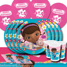 Disney Doc McStuffins Children's Birthday Complete Party Balloon Pack For 16