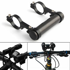 MTB Bike Bicycle Accessories Mount Bracket Bicycle Flashlight Holder Black