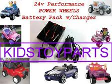NEW! 24V Conversion Kit UPGRADE For 12 Volt Power Wheels (Battery & Charger)