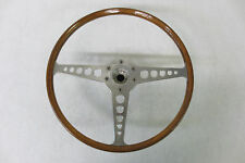 ORIGINAL 1961 - 1970 Jaguar E type XKE Steering Wheel REAL WOOD And Hub