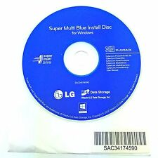 *New*LG Super Multi Blue Ray Disc Blu-Ray Playing burner Software for Windows