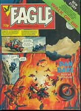 EAGLE weekly British comic book June 18 1983 VG+