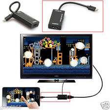 Micro USB 2.0 MHL To HDMI Cable HD 1080P For Samsung Galaxy Note2 Android Tablet