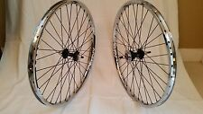 SUN ENVY WHEEL SET BMX 20X1.75 SEALED CASSETTE HUB 16T 3/8  CHROME