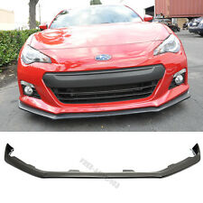 Fit 13-16 Subaru BRZ Front Bumper Lip Spoiler Coupe STI Style PU Poly Urethane