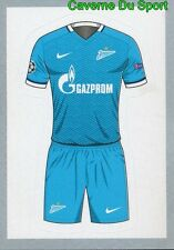 509 HOME SHIRT KIT FOOTBALL FC.ZENIT STICKER CHAMPIONS LEAGUE 2016 TOPPS