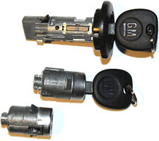 New Chevrolet GM OEM Ignition/Doors Lock Key Cylinder Set With Keys To Match
