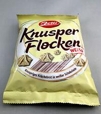 Zetti Knusper Flocken Weiss Knäckebrot in weißer Schokolade 125g (100g/2,39€)