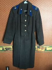 Rare Russian Soviet USSR KGB Military Wool Winter Coat Uniform Overcoat Very GC.