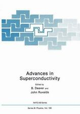 Advances in Superconductivity (Nato ASI Subseries B:)-ExLibrary