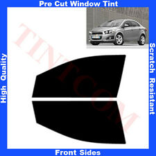 Pre Cut Window Tint Chevrolet Aveo 4 Doors Saloon 2011-... Front Sides Any Shade