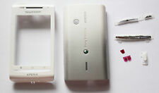 White Housing Cover Facia Fascia Faceplate case for Sony Ericsson X8 Xperia
