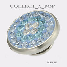 Authentic Kameleon Sterling Silver Blue Sparkle Jewelpop KJP048