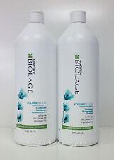 Matrix Biolage Volumizing Volume Bloom Shampoo & Conditioner Liter for Fine Hair