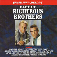 Best Of Righteous Brothers - Righteous Brothers (1990, CD NIEUW)
