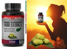 Pure Noni - NONI EXTRACT 500mg - Immune Support 1 Bottle 60 Capsules