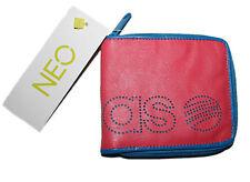 adidas neo Damen Portemonnaie Geldbörse F+ PU Wallet pink blau NEU @10