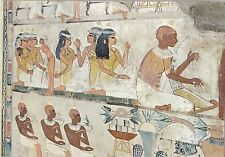BF17764 luxor tombs of nobles mural painting on the tomb  egypt front/back image