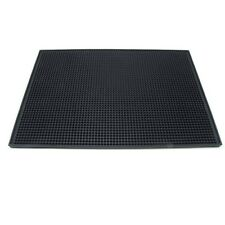 "Large Rubber Bar Service Spill Mat - 18"" x 12"""