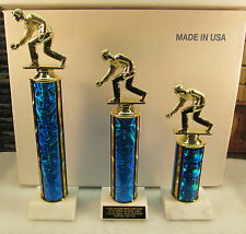Bocce Ball Lawn Bowling Award MorF 1st,2nd,3rd FREE Engraving Ship 2-3 Day Mail