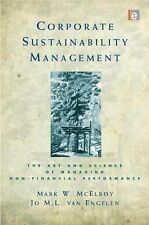 Corporate Sustainability Management : The Art and Science of Managing...